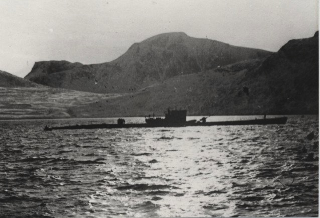 U-537 Anchored in Martin Bay, 22 October 1943