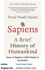 Sapiens, by Yuval Noah Harari