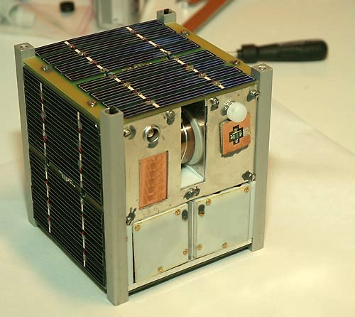nCube, 10cm CubeSat created by University students in Norway.